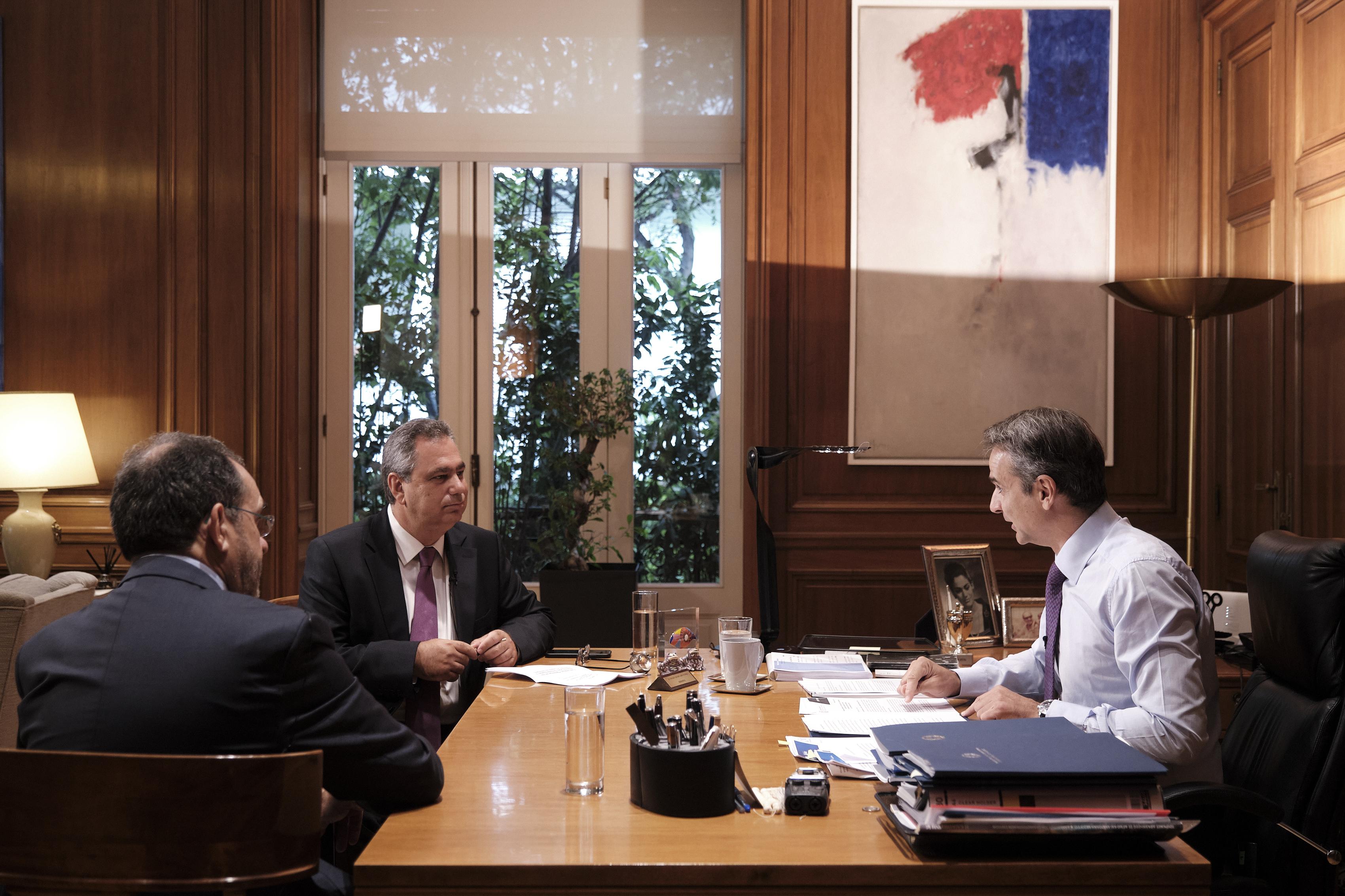 K.Μητσοτάκης: Δεν μεσολάβησε η Μέρκελ για την επικοινωνία μου με Ερντογάν...