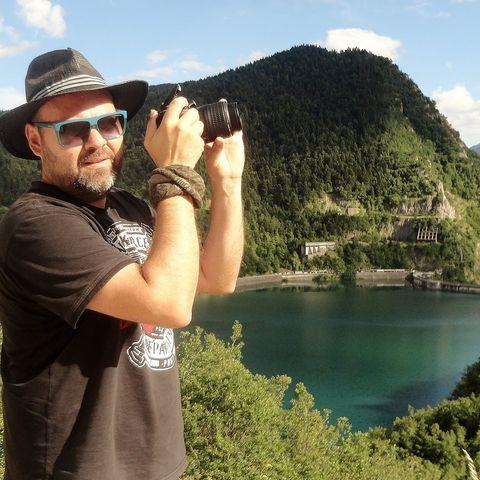 Ο φωτογράφος Αλέξης Αλεξανδρής