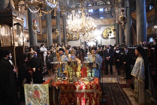 Με μεγαλοπρέπεια ο εορτασμός των Θεοφανείων στο Φανάρι   ΣΚΑΪ