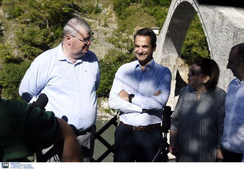 Ιωάννινα-Μητσοτάκης: Θαύμα πολιτιστικής κληρονομιάς γεφύρι Πλάκας ...