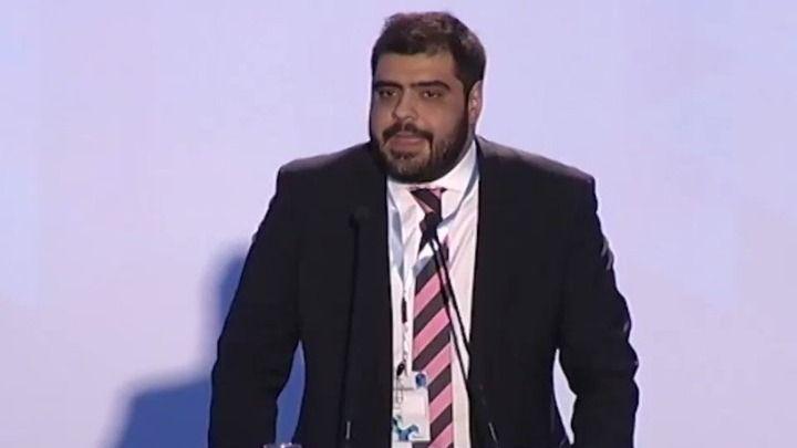 Νέος πρόεδρος της ΟΝΝΕΔ ο Παύλος Μαρινάκης