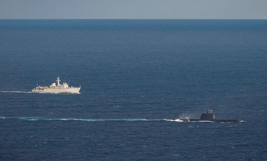 Μήνυμα: Κοινή ναυτική άσκηση Κύπρου, Γαλλίας, Ιταλίας στην κυπριακή ΑΟΖ
