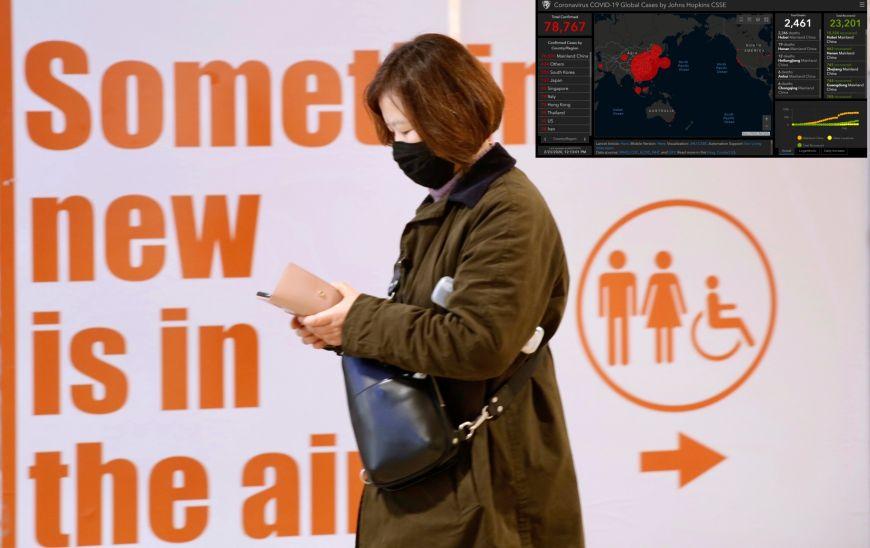 Κορωνοϊός - Χάρτης: Real time η εξέλιξη της επιδημίας – Στο «κόκκινο» η Ιταλία