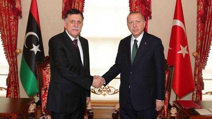 Το «μυστήριο» της συνάντησης Ερντογάν - Σάρατζ