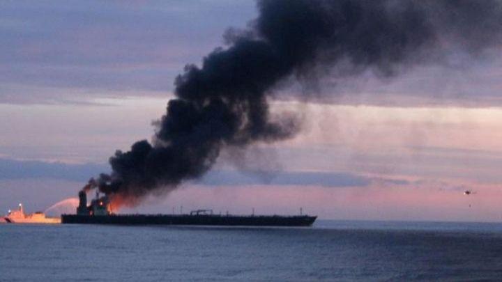 Ένας νεκρός από φωτιά σε δεξαμενόπλοιο ανοικτά της Σρι Λάνκα- 5 Έλληνες στο πλήρωμα