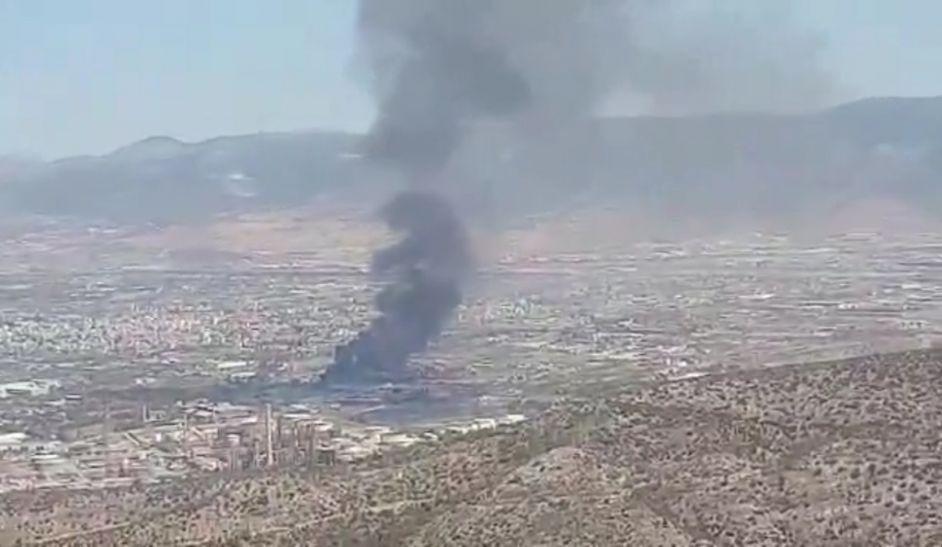 Ασπρόπυργος: Φωτιά σε εργοστάσιο (vid)