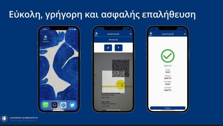 Πιερρακάκης: Έτσι θα λειτουργεί η εφαρμογή Covid Free GR για τον έλεγχο πιστοποιητικών στην εστίαση