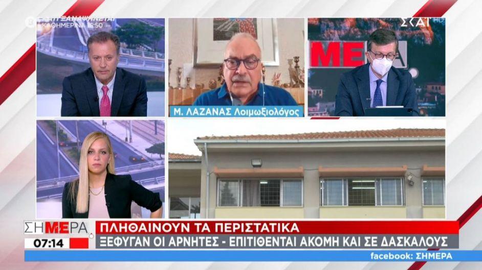 Λαζανάς σε ΣΚΑΪ: Αποφάσεις για εκταφές για να διαπιστωθεί αν πέθαναν από Covid – Είμαστε τρελοκομείο - Skai.gr