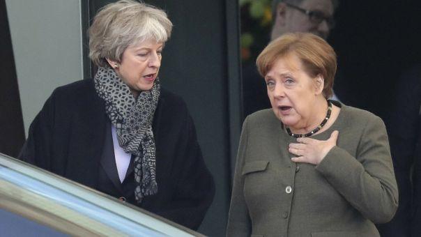Μέι και Μέρκελ «συμφώνησαν στη σημασία του ομαλού Brexit»