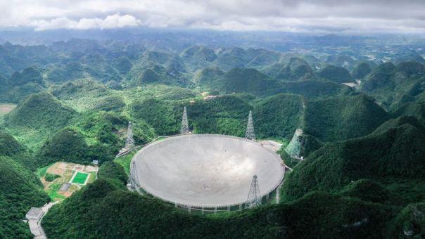 «Μάτι του Ουρανού» : Ξεκινά η λειτουργία του μεγαλύτερου ραδιοτηλεσκοπίου στον κόσμο