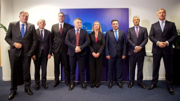 Τι συζήτησαν Μογκερίνι - ηγέτες των δυτικών Βαλκανίων για το ευρωπαϊκό αδιέξοδο