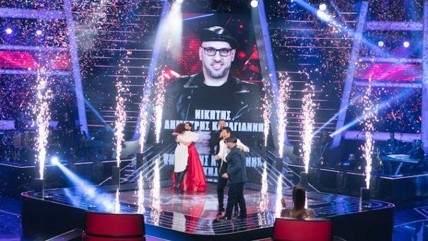 Στην κορυφή της τηλεθέασης ο τελικός του The Voice of Greece