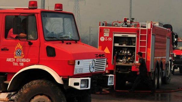 Σε ύφεση η πυρκαγιά στην περιοχή Κάντια του Ναυπλίου
