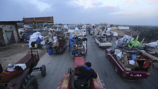 «Καμπανάκι» ΟΗΕ για νέο κύμα 235.000 προσφύγων από την Ιντλίμπ