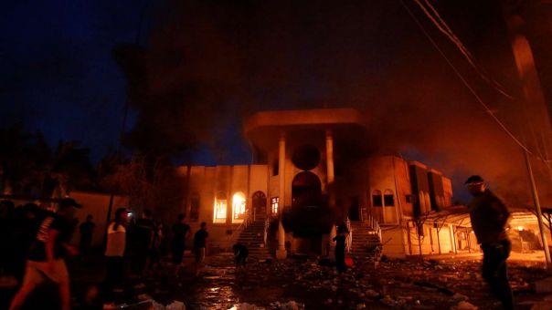 Βαγδάτη: Τρεις ρουκέτες έπληξαν την πρεσβεία των ΗΠΑ