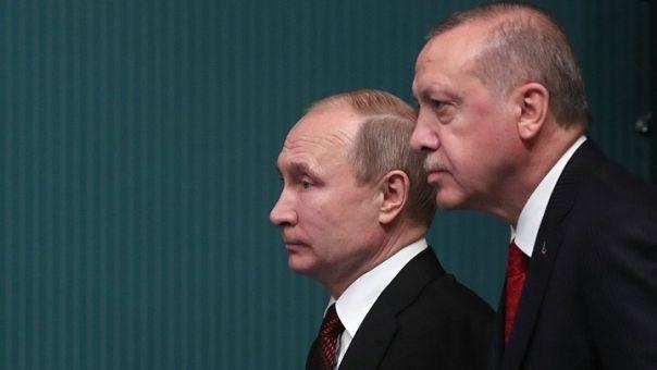 Τηλεφωνική επικοινωνία Πούτιν-Ερντογάν για την κατάσταση στην Ιντλίμπ