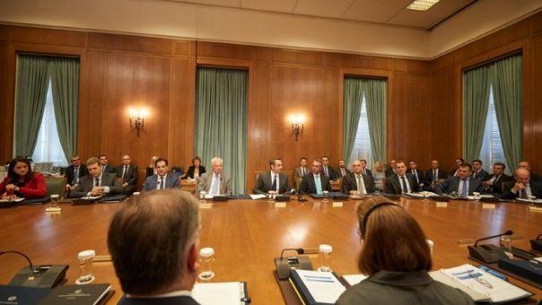 Υπουργικό: Συγχαρητήρια Μητσοτάκη σε Χρυσοχοΐδη και Σταϊκούρα για Εξάρχεια και Ομόλογο