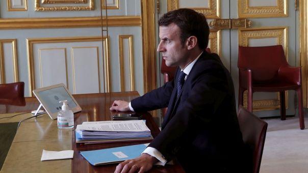 Προειδοποίηση Μακρόν για κατάρρευση ευρωπαϊκής ιδέας χωρίς κοινή οικονομική αντιμετώπιση της πανδημίας