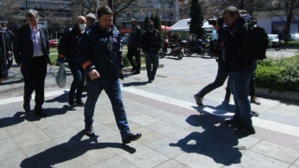 Κρανίδι: Κρούσμα κορωνοϊού σε δομή φιλοξενίας μεταναστών. Έσπευσαν Χαρδαλιάς, Τσιόδρας, Μηταράκης (pics+vid)