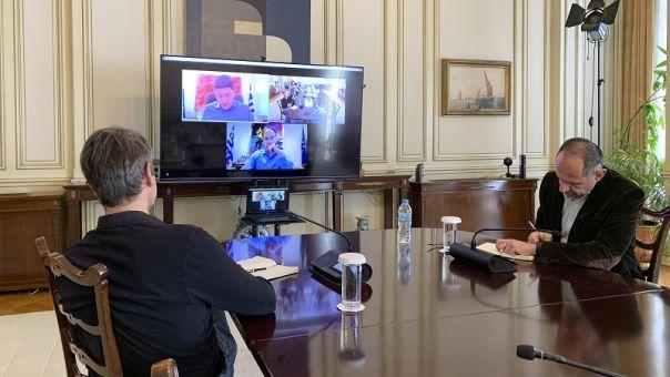 Τηλεδιάσκεψη Μητσοτάκη για την επανεκκίνηση του αθλητισμού