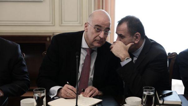 Δένδιας - Παναγιωτόπουλος: Ενημέρωσαν την επιτροπή Εξωτερικών και Άμυνας