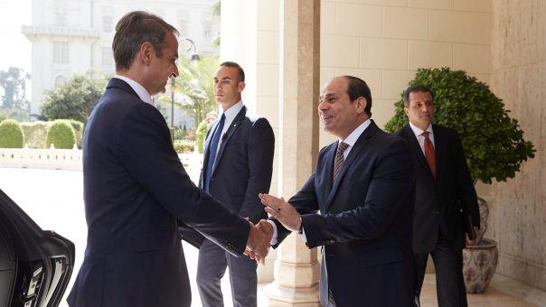 Μητσοτάκης - Σίσι συμφώνησαν στην ταχύτερη δυνατή κύρωση της ελληνοαιγυπτιακής συμφωνίας