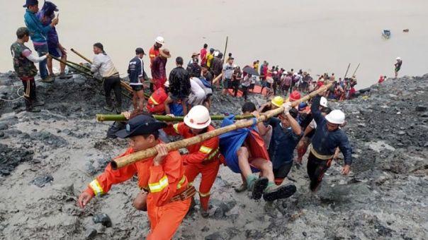 Τραγωδία στη Μιανμάρ: Τουλάχιστον 113 νεκροί από κατολίσθηση σε ορυχείο
