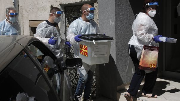 Κορωνοϊός-Βόρεια Μακεδονία: Εκλογές στη σκιά της πανδημίας