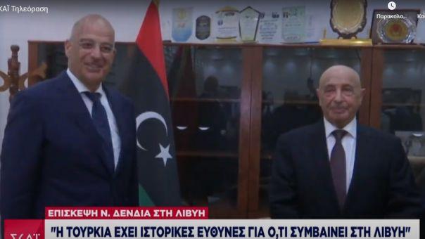 Δένδιας - Λιβύη: Τι σημαίνει η διπλωματική παρέμβαση Αθήνας –Το παρασκήνιο επίσκεψης