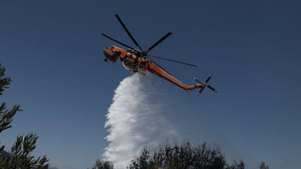 Πυρκαγιά στο νησάκι Καστός της Λευκάδας