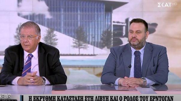 Δεσποτόπουλος-Καραϊτίδης σε ΣΚΑΪ: Ο ρόλος Ερντογάν σε Λιβύη, Μεσόγειο και οι αμερικανικές εκλογές