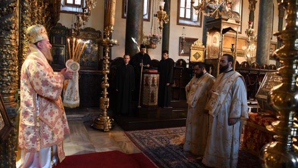 Εορτασμός της μνήμης της Αγίας Μεγαλομάρτυρος Ευφημίας στο Οικουμενικό Πατριαρχείο