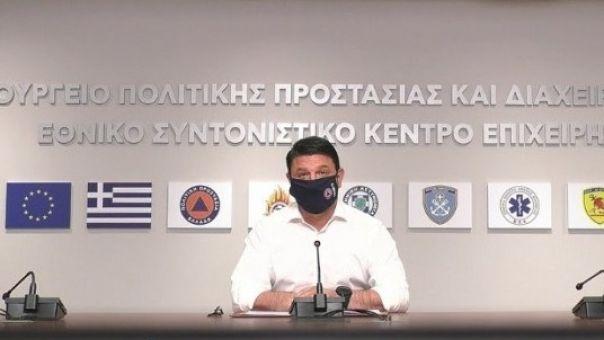 Χαρδαλιάς-Κορωνοϊός: Οι έλεγχοι θα ενταθούν - 961 ενεργά κρούσματα σε μια βδομάδα