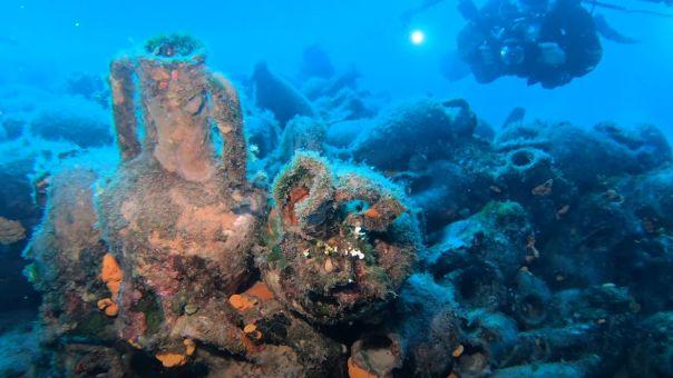 Aνοίγει φέτος τις υδάτινες πύλες του το πρώτο υποβρύχιο μουσείο της Ελλάδας στην Αλόννησο (vid)