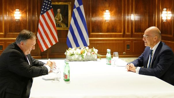Συνάντηση Δένδια - Πομπέο: Τι ζήτησε η Αθήνα - Πομπέο: Ισχυρή διμερής σχέση ΗΠΑ - Ελλάδας