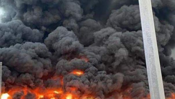 ΗΑΕ: Μεγάλη πυρκαγιά σε κλειστή αγορά του εμιράτου Ατζμάν