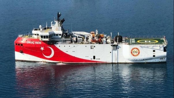 Τουρκία: Ελλιμενίστηκε στην Αττάλεια το Ορούτς Ρέις