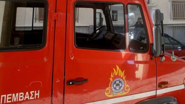 Ηράκλειο: Πυρκαγιά σε επιχείρηση αρτοσκευασμάτων