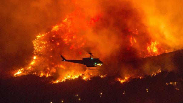 """Καλιφόρνια: """"Στάχτη"""" πάνω από 16 εκατ. στρέμματα εκτάσεων από τις πυρκαγιές"""