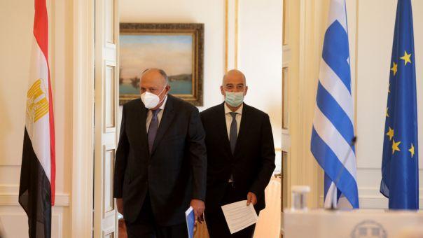 Η Ανατολική Μεσόγειος στο επίκεντρο συζητήσεων Δένδια- Σούκρι