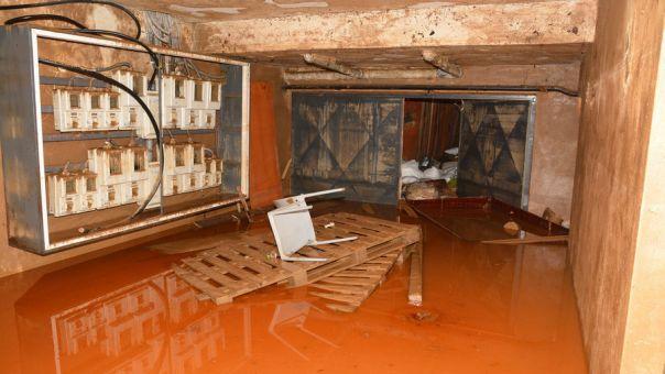 Εκτεταμένες καταστροφές από το πέρασμα του Ιανού στη Λαμία