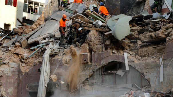 Ίχνη ζωής στα ερείπια ένα μήνα μετά την έκρηξη στη Βηρυττό - Μεγάλη επιχείρηση (vid,pics)