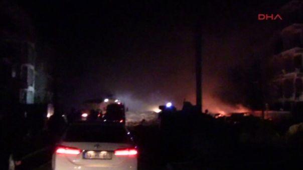 Τουρκία: Ισχυρή έκρηξη στην Αλεξανδρέττα (VID)