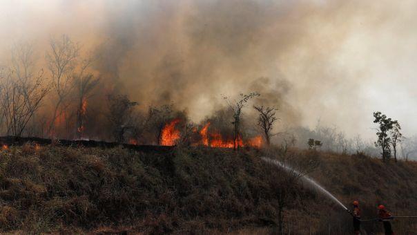 Βολιβία: «Κατάσταση εθνικής καταστροφής» λόγω πυρκαγιών