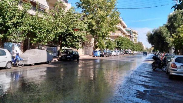 Δήμος Αθηναίων: Κυριακάτικη δράση καθαριότητας – απολύμανσης στην περιοχή Ελληνορώσων (ΦΩΤΟ)