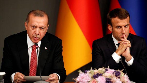 Γαλλικό πρέσινγκ σε Ερντογάν: Να αλλάξει την επεκτατική συμπεριφορά σε Ανατολική Μεσόγειο