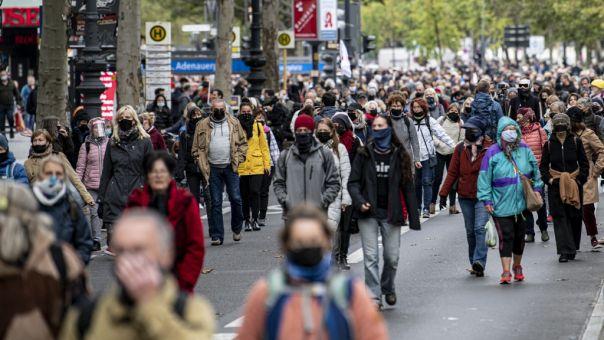 Γερμανία: 13.554 κρούσματα κορωνοϊού και 249 θάνατοι σε 24 ώρες