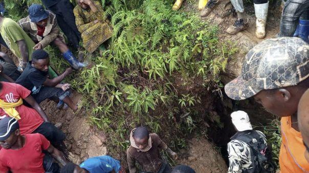 Ζιμπάμπουε: Τουλάχιστον 40 μεταλλωρύχοι έχουν παγιδευτεί μετά από κατολίσθηση σε χρυσωρυχείο