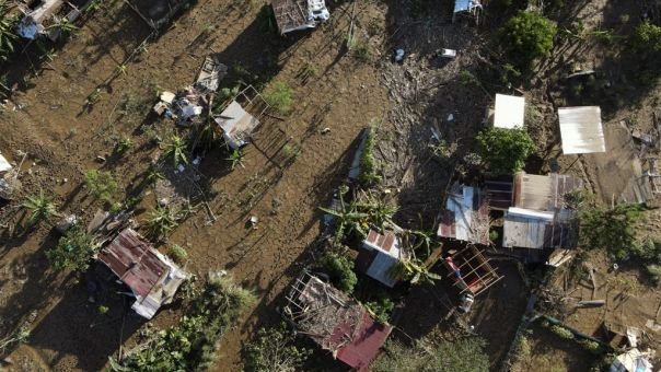 Η τροπική καταιγίδα Γιώτα πλήττει την Ονδούρα - 9 νεκροί
