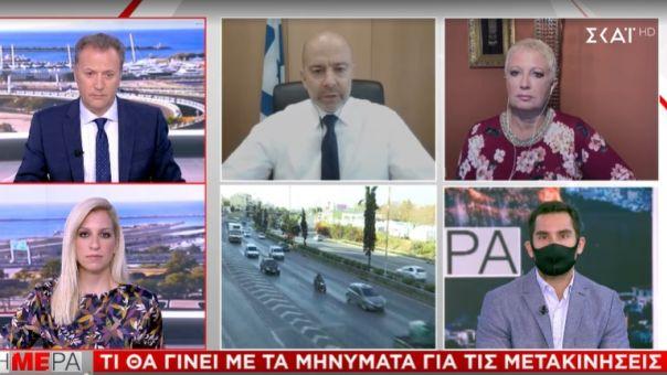 Ζαριφόπουλος σε ΣΚΑΪ για SMS στο 13033: Χωρίς χρέωση-Τι κάνουμε αν δεν λάβουμε απάντηση
